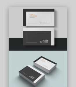 20+ Double-Sided, Vertical Business Card Templates (Word, Or with regard to 2 Sided Business Card Template Word
