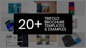 20+ Professional Trifold Brochure Templates, Tips & Examples within Good Brochure Templates