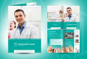 20 Well Designed Examples Of Medical Brochure Designs regarding Medical Office Brochure Templates