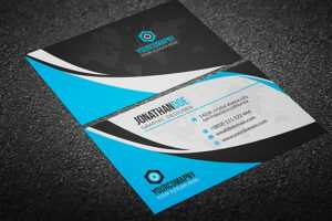 200 Free Business Cards Psd Templates – Creativetacos with regard to Psd Name Card Template