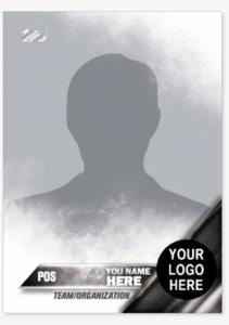 2016 Topps Series One Baseball Custom Trading Card with Custom Baseball Cards Template