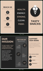 21 Brochure Templates And Design Tips To Promote Your in One Page Brochure Template