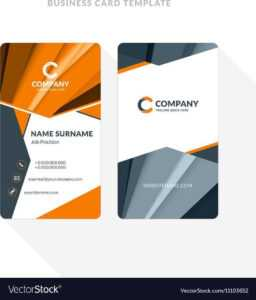 21 Report Adobe Illustrator Double Sided Business Card intended for Adobe Illustrator Business Card Template