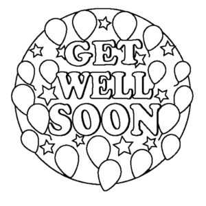 24 Comforting Printable Get Well Cards | Kittybabylove regarding Get Well Soon Card Template