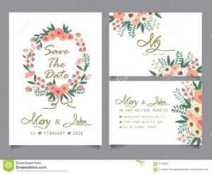 25 Awesome Template Design For Invitation Card pertaining to Anniversary Card Template Word