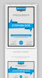 25+ Best Certificate Design Templates: Awards, Gifts intended for Sales Certificate Template