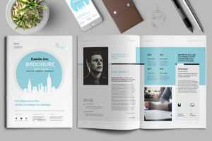 25+ Best Indesign Brochure Templates | Design Shack for Letter Size Brochure Template
