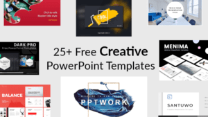 25+ Creative Free Powerpoint Templates throughout Powerpoint Slides Design Templates For Free
