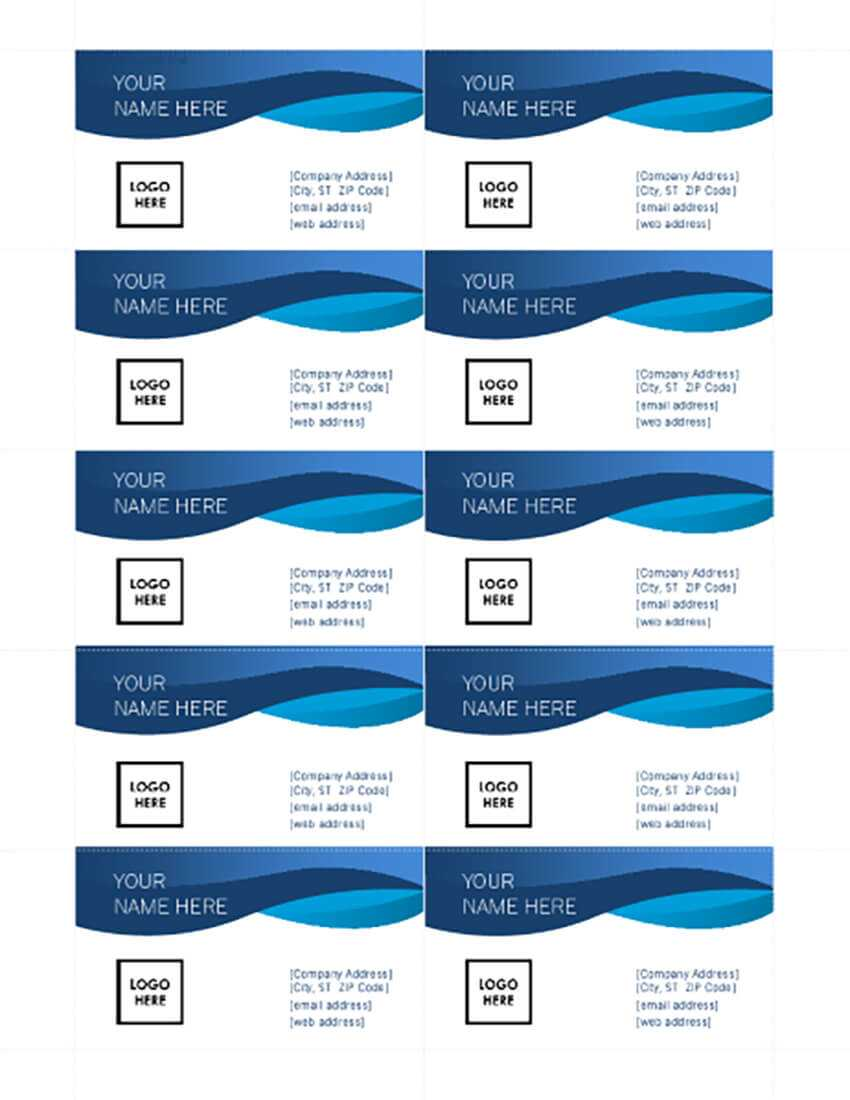 25+ Free Microsoft Word Business Card Templates (Printable Inside Business Cards Templates Microsoft Word