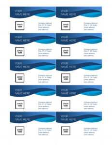 25+ Free Microsoft Word Business Card Templates (Printable intended for Business Card Template Word 2010