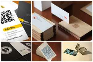 25 Impressive Examples Of Qr Code Business Cards with Qr Code Business Card Template