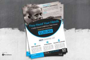 25+ Respectable Charity Flyer Templates – Creativebonito with Ngo Brochure Templates
