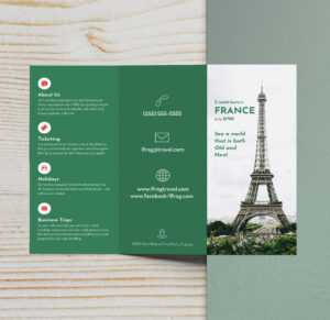 25+ Trifold Brochure Examples To Inspire Your Design pertaining to Three Panel Brochure Template