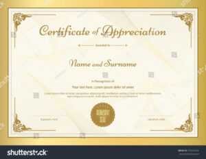 26 Printable Gold Foil Seal Certificate Templates in Choir Certificate Template