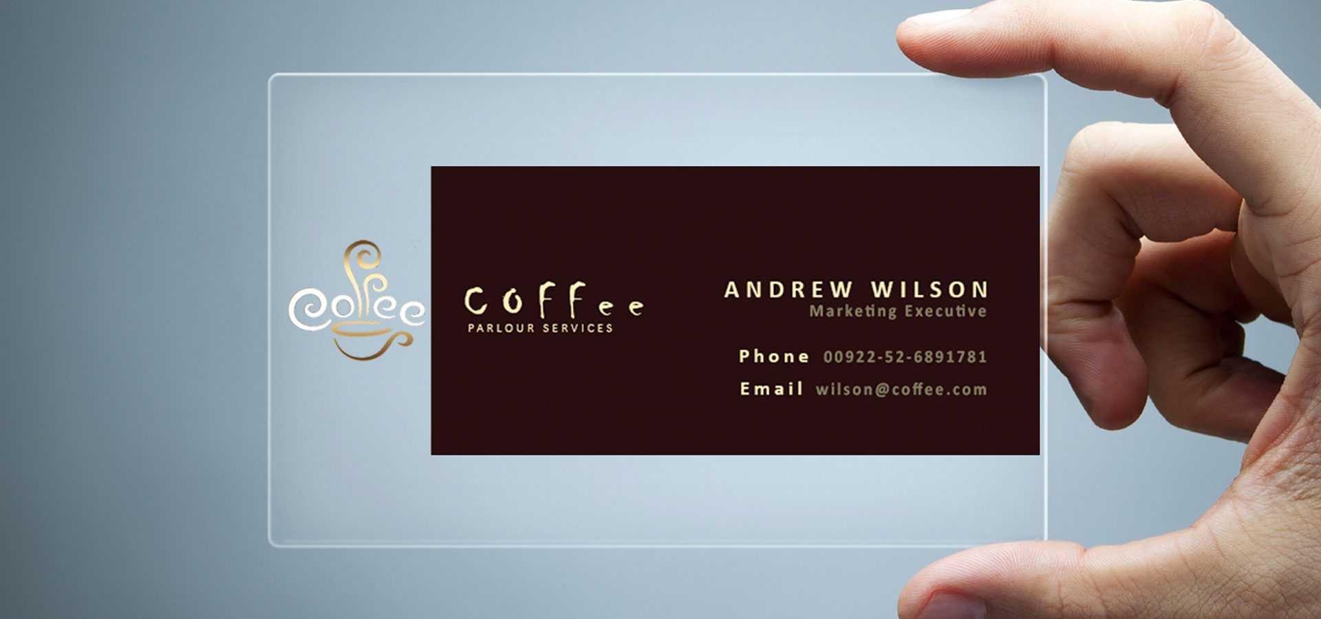 26+ Transparent Business Card Templates - Illustrator, Ms In Microsoft Office Business Card Template