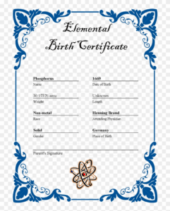 27 Images Of Ar Element Birth Certificate Template – Border throughout Birth Certificate Templates For Word