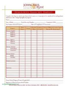 27 Online Blank Report Card Template Homeschool Now With regarding Blank Report Card Template