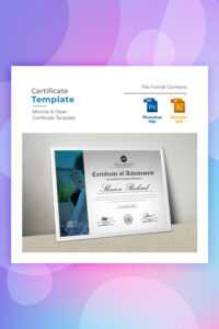 28 Attention-Grabbing Certificate Templates – Colorlib in Pages Certificate Templates