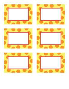 28+ [ Celebrate It Place Cards Template ]   Place Cards with regard to Michaels Place Card Template