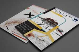 29 Best Free Brochure Templates in One Sided Brochure Template