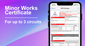3 Circuit Minor Works Electrical Certificate – Icertifi within Minor Electrical Installation Works Certificate Template