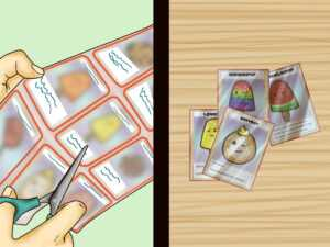 3 Ways To Make Your Own Trading Cards – Wikihow in Baseball Card Template Microsoft Word