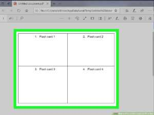 3 Ways To Print On Note Cards On Pc Or Mac – Wikihow intended for Google Docs Index Card Template