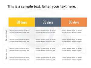 30 60 90 Day Plan Powerpoint Template 23 | 30 60 90 Day Plan throughout 30 60 90 Day Plan Template Powerpoint