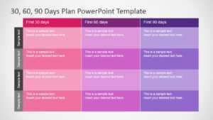 30 60 90 Days Plan Powerpoint Template regarding 30 60 90 Day Plan Template Powerpoint