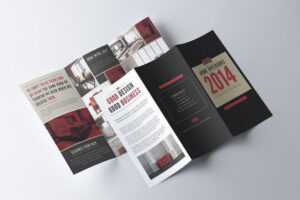 30+ Best Tri-Fold Brochure Templates (Word & Indesign with 4 Fold Brochure Template Word
