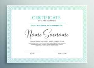 30+ Certificate Of Appreciation Download!! | Templates Study with regard to Volunteer Of The Year Certificate Template