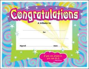 30 Congratulations Awards (Large) Swirl Certificate Pack for Free Funny Certificate Templates For Word