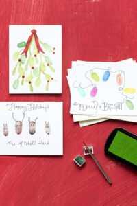 30 Diy Christmas Card Ideas – Funny Christmas Cards We're intended for Diy Christmas Card Templates