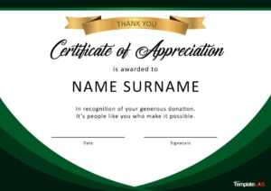 30 Free Certificate Of Appreciation Templates And Letters intended for Certificate Of Appreciation Template Free Printable