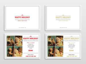 30 Holiday Card Templates For Photographers To Use This Year in Free Photoshop Christmas Card Templates For Photographers