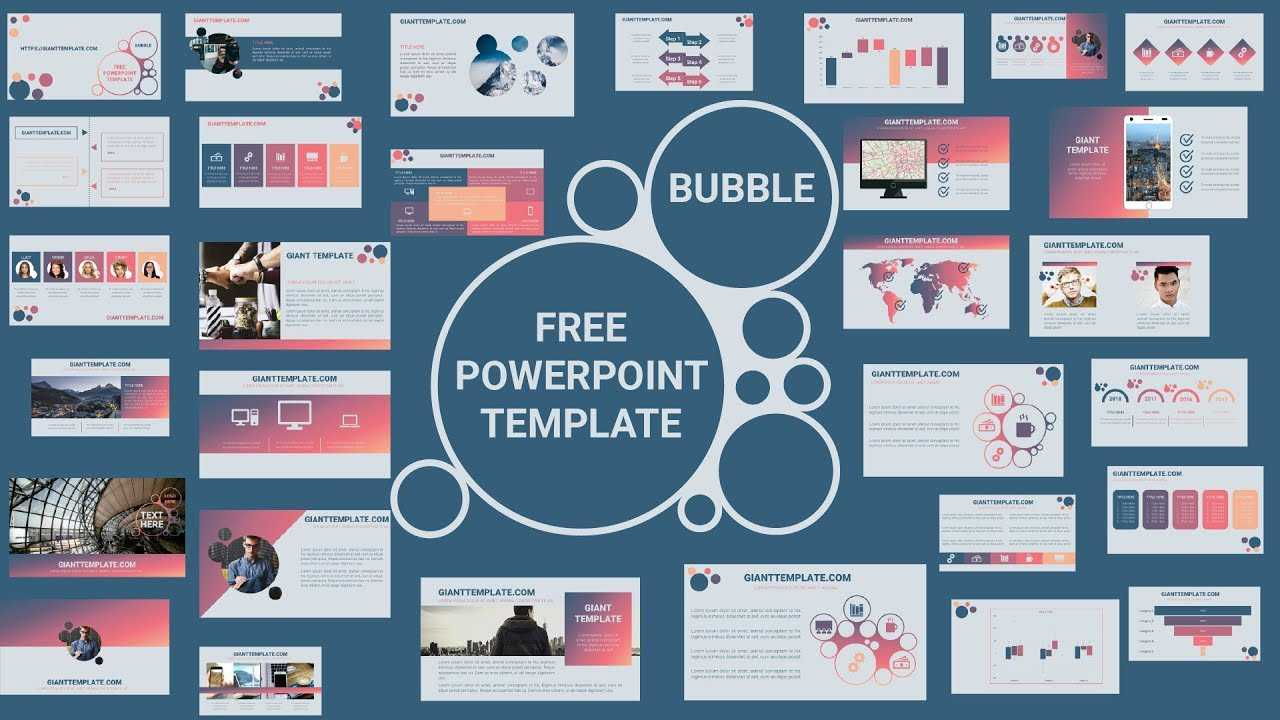 30 Slide Free Download Morph Powerpoint Template - Free Within Powerpoint Animated Templates Free Download 2010