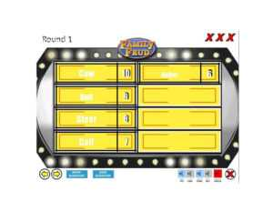 31 Great Family Feud Templates (Powerpoint, Pdf & Word) ᐅ intended for Family Feud Powerpoint Template With Sound