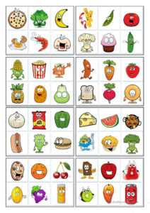 32 Bingo Cards – Food – English Esl Worksheets For Distance pertaining to Ice Breaker Bingo Card Template