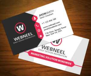 32 Modern Business Card Template Free Download throughout Download Visiting Card Templates
