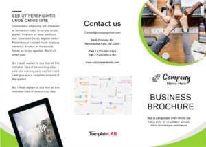33 Free Brochure Templates (Word + Pdf) ᐅ Templatelab for Online Free Brochure Design Templates