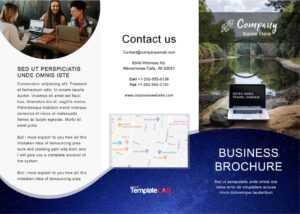 33 Free Brochure Templates (Word + Pdf) ᐅ Templatelab in Word Travel Brochure Template