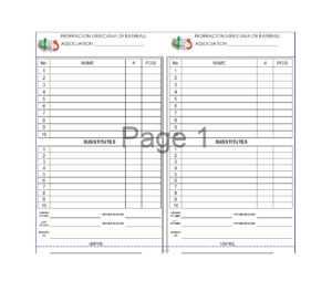 33 Printable Baseball Lineup Templates [Free Download] ᐅ for Free Baseball Lineup Card Template