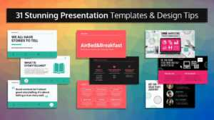 33 Stunning Presentation Templates And Design Tips intended for Sample Templates For Powerpoint Presentation
