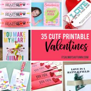 35 Adorable Diy Valentines Cards For Kids That You Can Print pertaining to Valentine Card Template For Kids