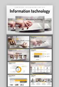 35 Best Science & Technology Powerpoint Templates (High-Tech in Powerpoint Templates For Technology Presentations