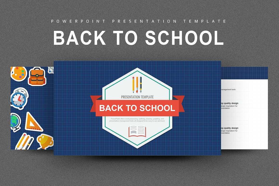 35+ Free Education Powerpoint Presentation Templates Regarding Back To School Powerpoint Template
