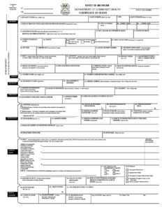 37 Blank Death Certificate Templates [100% Free] ᐅ Templatelab intended for Birth Certificate Template Uk