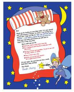 37 Tooth Fairy Certificates & Letter Templates – Printable for Free Tooth Fairy Certificate Template