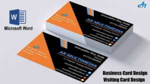 37 Visiting Microsoft Office Word 2007 Business Card regarding Business Card Template For Word 2007