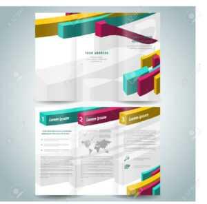 3D Brochure Design – Oflu.bntl for Pop Up Brochure Template